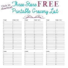 printable household shopping list customizable grocery list template customizable grocery list