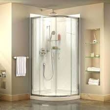Sliding Shower Doors For Small Spaces Small Shower Enclosures Fin Soundlab Club