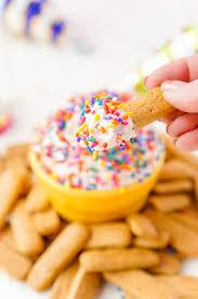 funfetti birthday cake dip sugar u0026 soul