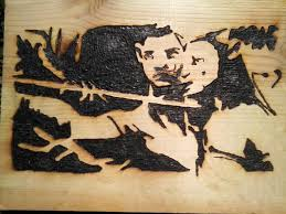 intro to wood burning 4 steps wood burning with a magnifying glass 4 steps with pictures