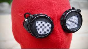 spider man homecoming homemade mask youtube