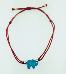 string red bracelet images Red string elephant bracelet rachel brown jewelry