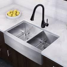 farmhouse faucet kitchen farmhouse sinks you ll wayfair