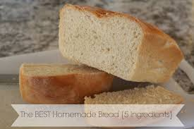 the best homemade bread recipe with only 5 ingredients vegan