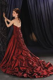 Red Wedding Dresses Would You Wear Red Wedding Dresses 2012 Fashion Dress