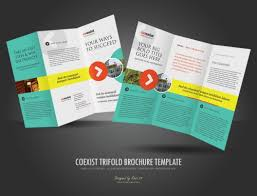 sided tri fold brochure template 30 trifold brochure template website and design inspiration