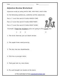 the adjective clause worksheet teach nology