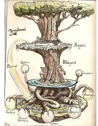 yggdrasil eternal and sacred tree of in norse mythology