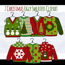 ugly christmas sweater clip art u2013 happy holidays