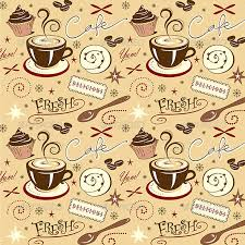 coffee shop background design repeat pattern hot fresh coffee shop sweets by jamiejay graphicriver