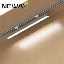 commercial linear pendant lighting 24w36w48w60w 60deg indoor commercial rail track mounted linear led