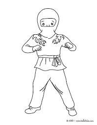 ninja coloring pages drawing kids free games