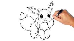 how to draw eevee from pokemon youtube