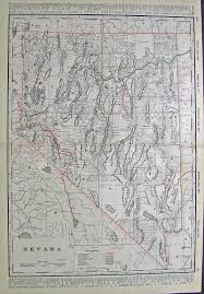 map of nevada prints nevada page