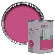 colours pink wood paint diy