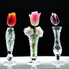 Bud Vase Arrangements Berlin Crystal Bud Vase U2013 Kusak Cut Glass Works