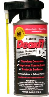 caig laboratories d5s 6p 60th anniversary deoxit d5 spray with new