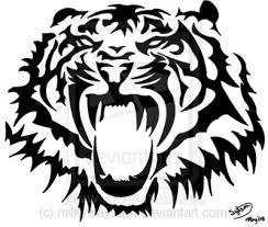 tiger stencils tiger stencil design by milkywaysora