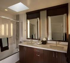 Oak Bathroom Mirrors - oval bathroom mirrors with square tile floor patterns for modern