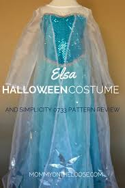 Simplicity Halloween Costumes Elsa Halloween Costume U0026 Simplicity Pattern 0733 Review