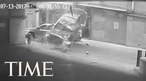 Size Of Single Car Garage Watch A Car Fall 7 Stories From A Texas Parking Garage Time