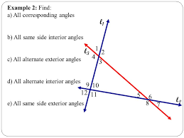 Alternate Corresponding And Interior Angles 4 5 Introduction To Parallel Lines Ppt Video Online Download