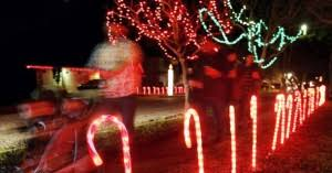 Candy Cane Lights Best Christmas Lights Candy Cane Lane Parade Caller Entertainment
