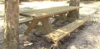 How To Build A Wooden Picnic Table by Building A Picnic Table For Your Yard Today U0027s Homeowner