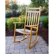 Oak Rocking Chairs For Sale Dixie Seating Indoor Outdoor Slat Rocking Chair Fashion Colors