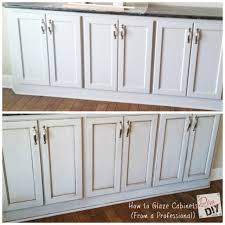 Glazed Kitchen Cabinets Pictures Refinished Kitchen Cabinets Before And After Preferred Home Design