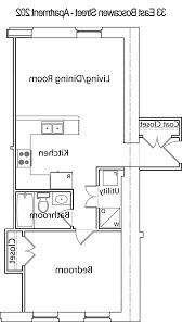 1 bedroom studio apartment floor plan home design ideas