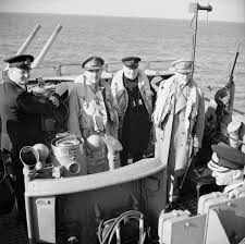 War Cabinet Ww2 Winston Churchill With Field Marshal Jan Smuts Of The Imperial