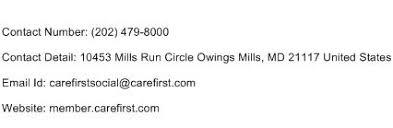 Shield Customer Service Carefirst Blue Cross Blue Shield Maryland 1800 Customer Service