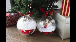 and easy snow globe ornament craft