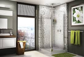 cool pictures of tiled showers with glass doors esign
