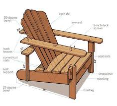 Adirondack Chairs Blueprints Plain Adirondack Chairs Blueprints For Inspiration