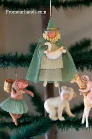363 best spun cotton christmas and easter ornaments images on