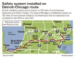 Amtrak Status Map by Ptc Installation On Wolverine Route Should Be Done In Late 2016 Or