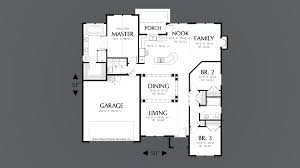 mascord house plan 1147 the brookings