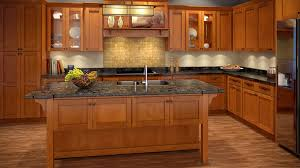 Honey Colored Kitchen Cabinets - merry maple shaker kitchen cabinets natural shaker kitchen
