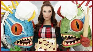 Nerdy Nummies Halloween Cakes Hearthstone Cherry Pie Nerdy Nummies Youtube