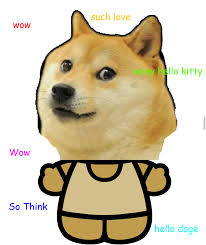 Doge Pronunciation Meme - wow such hello kitty doge doge meme and hello kitty