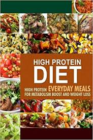 amazon com high protein diet high protein everyday meals for