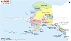 alaska major cities map alaska county map with cities images