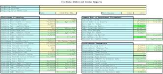 business valuation spreadsheet with introduction to income