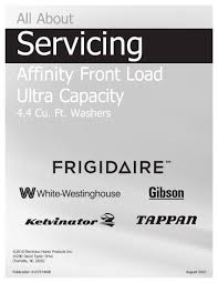 frigidaire gallery washer manual pdf galleryimage co