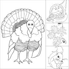 Free Thanksgiving Coloring Free Printable Thanksgiving Coloring Pages Make And Takes