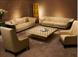 Modern Leather Couch Set Fine Leather Sofas Set Of Contemporary Sofa Sets Brown Wildwoodsta