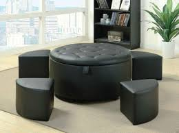 Black Microfiber Ottoman Coffee Table Coffee Table Black Ottoman Ottomanblack Cheap