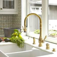 kitchen sink and faucet gold kitchen sink faucet design ideas